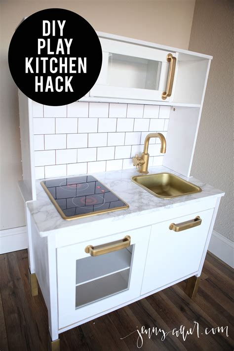 Diy Ikea Play Kitchen Hack Kitchen Hacks Cabinets And | diy play kitchen hack for makaila pinterest diy play