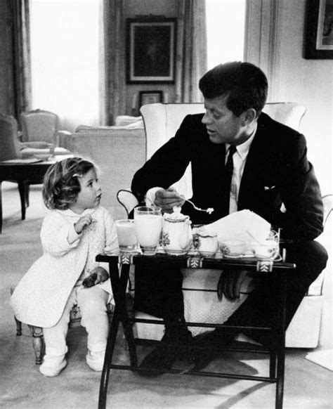 john f kennedy children u s presidents eating breakfast team breakfast