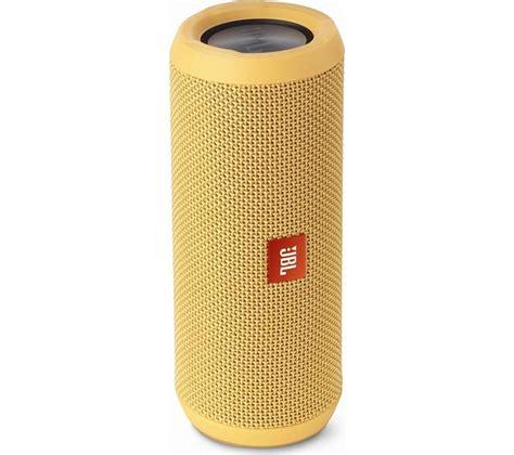 Speaker Portable Jbl Flip jbl flip 3 portable wireless speaker yellow deals pc world