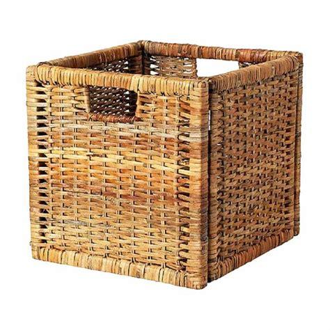 Daftar Keranjang Rotan jual ikea r branas rotan handmade keranjang brown 32 x