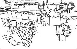 jogo desenhos colorir minecraft jogos wx