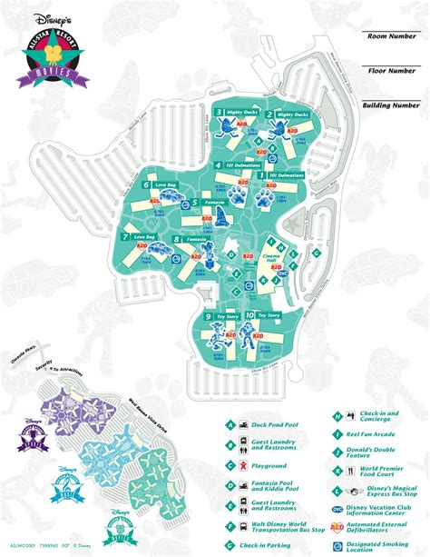 all resort map preferred rooms disney s all resort doctor disney