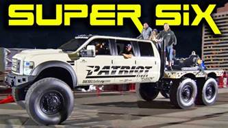 super 6x6x6 monster diesel