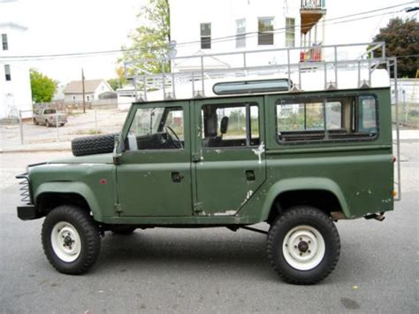how to sell used cars 1986 land rover range rover electronic valve timing sell used 1986 land rover defender in peace dale rhode island united states for us 7 000 00