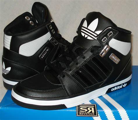 Adidas Original Shoes Mens High Tops by New Adidas Originals S Court Hi 2 0 Black White Shoes Retro 2 High Top Ebay