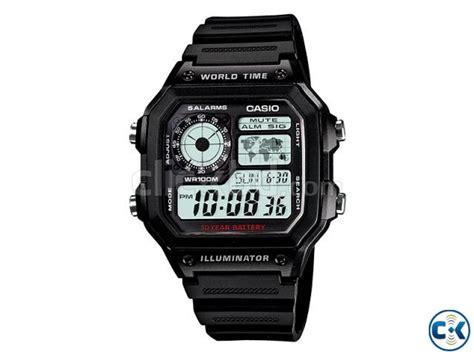 Casio Original Word Time original casio world time ae 1200wh 1av ww1083 clickbd