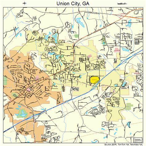 Union City Georgia Map | union city georgia street map 1378324