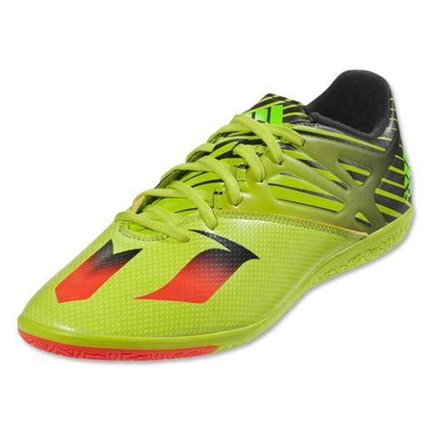 Adidas Messi 15 3 Indoor Original adidas jr messi 15 3 indoor soccer shoes semi solar slime
