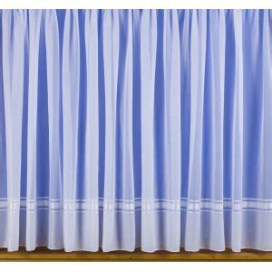 weighted voile curtains sylvie white voile with lead weighted straight base net