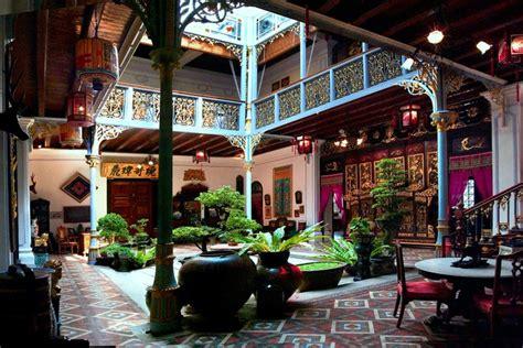 Blue Interior Design Pinang Peranakan Mansion Penang Malaysia Tourist