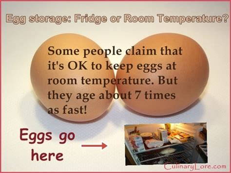 is it ok to store eggs at room temperature culinarylore
