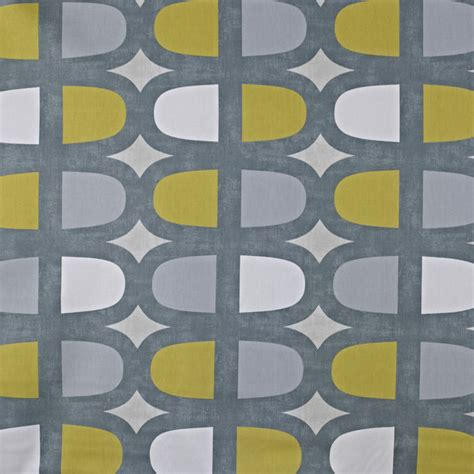 yellow and grey curtain fabric prestigious textiles docklands geometric 100 cotton
