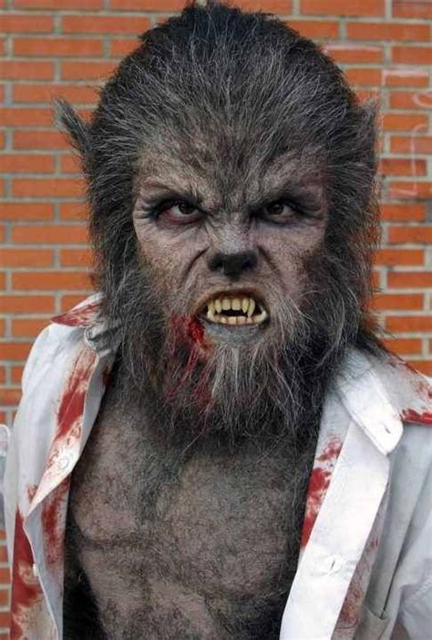 werewolf prosthetic tutorial image gallery wolfman makeup