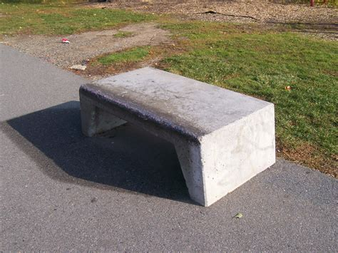 bench concrete concrete park bench plans pdf woodworking