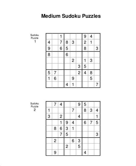 printable sudoku book pdf printable sudoku puzzle 7 free pdf documents download