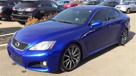lexus is blue pre owned ultrasonic blue 2008 lexus is f series 1 walk
