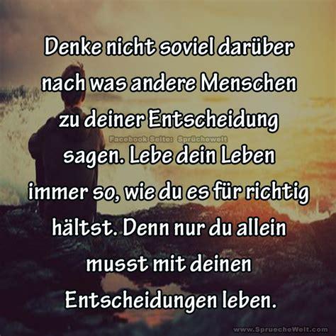 Lebe Dein Leben Bevor Es Andere Für Dich Tun by Denke Nicht Soviel Dar 252 Ber Nach Picture