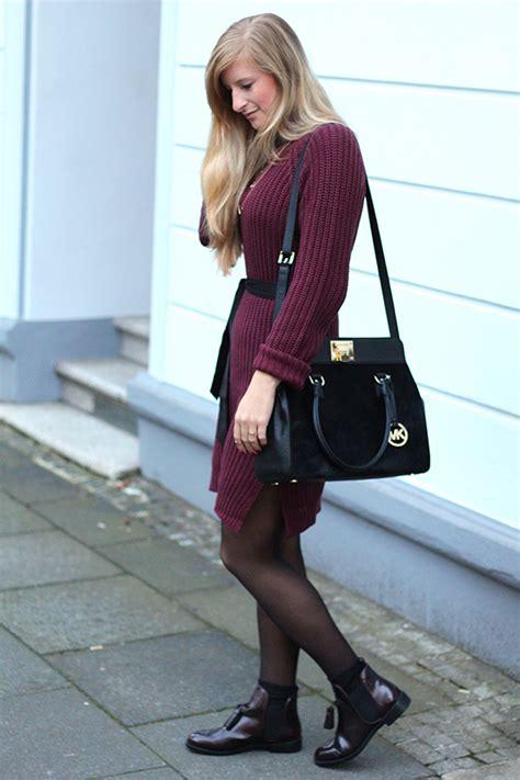 Welche Stiefeletten Zum Kleid 2657 by Herbst Wollkleid Mit Zara Boots Modeblog Deutschland