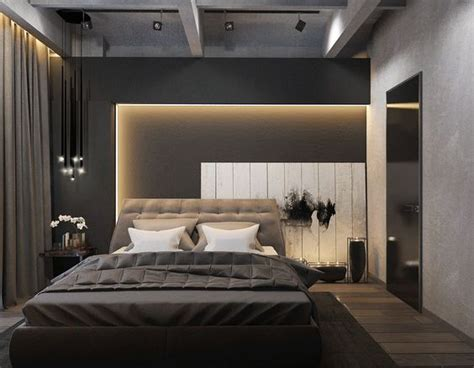 creative lighting effect at bedroom bedroom design