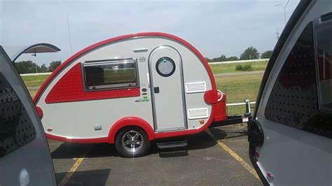 small light cer trailers tab nuc very lightweight small travel trailer youtube