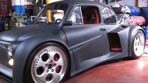 Lamborghini V 12 Fiat 500 With A Lamborghini V12 Engine