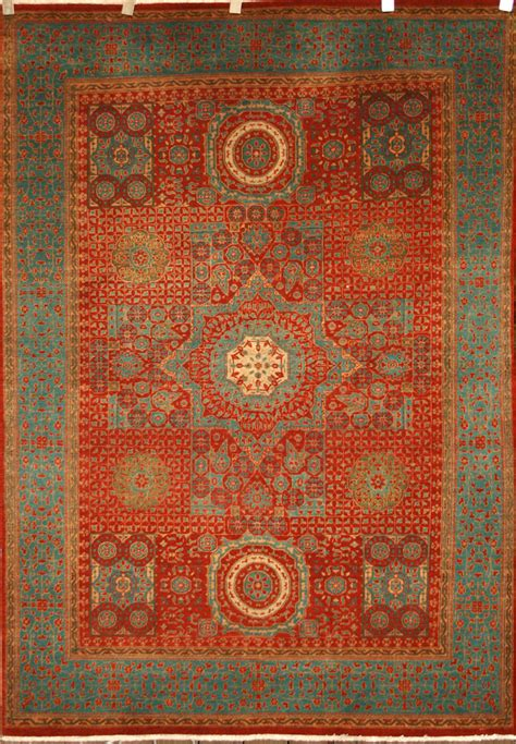 mamluk rugs knotted mamluk rug in wool cotton foundation ref 1336 2 17m x 1 53m