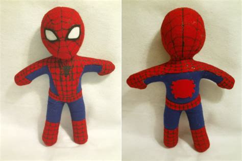 pattern for crochet spiderman doll marvel comics spider man by yami no jounin on deviantart