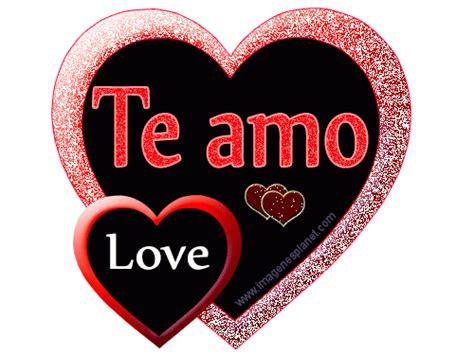 corazones que digan te amo imagenes de amor hd imagen de amor con movimiento de un coraz 243 n brillante te amo