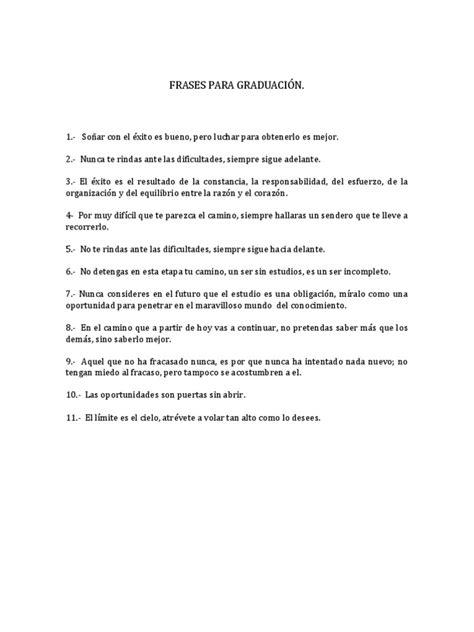 spots para clausura de fin de cursos frases para graduaci 211 n