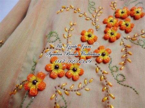 how to bead embroidery flower