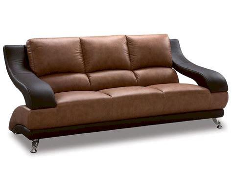 two tone sofas eurodesign leather brown two tone sofa gf982s