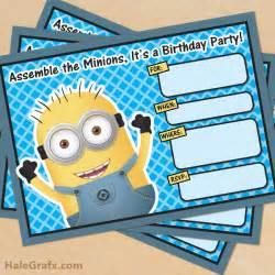 free minion invitation template free printable despicable me minion birthday invitation