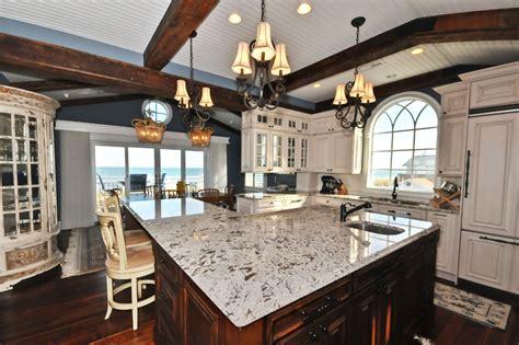 White Galaxy Granite Countertop Kitchen Design Ideas Make Your Kitchen With Alaska White Granite Homestylediary