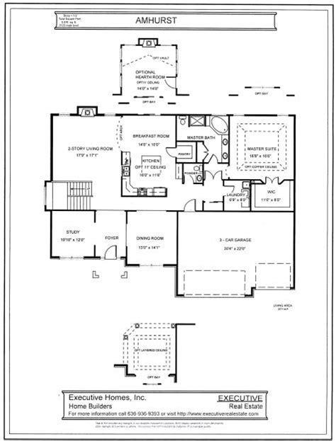 1 1/2 Story Floorplans