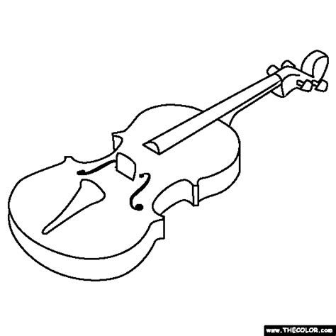 coloring pages violin free online coloring pages thecolor