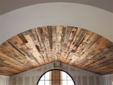 reclaimed barn wood ceiling view from the loft flickr