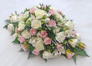 pink amp ivory rose top table wedding arrangement with crystals sarah s flowers
