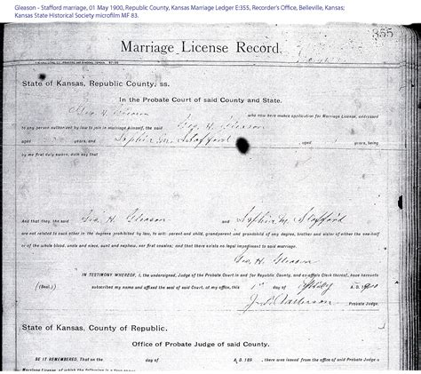 Yuma County Marriage Records M Stafford