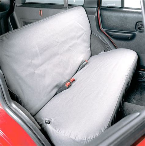 jeep xj seat covers covercraft ss7279pcgy covercraft rear seat savers for 92