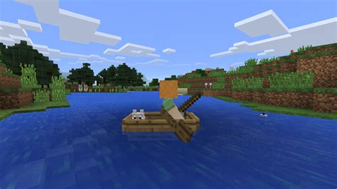 how to make a boat in minecraft pocket edition minecraft pocket edition upcoming update brings skins