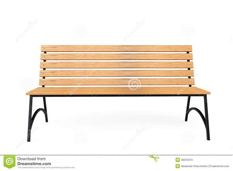 bench stock wooden park bench stock photo image 38345370