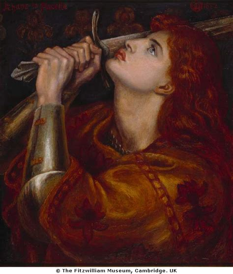 joan of arc joan of arc at the stake distilled to essence at