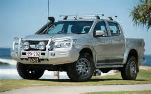 Sb Lights Holden Rg Colorado Outback Bull Bar Steel Tjm Australia
