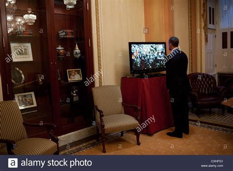 speaker of the house office layout us president barack obama watches a monitor in house