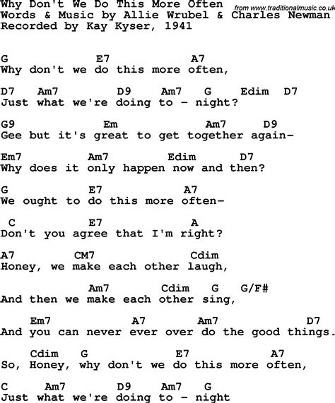 song t song lyrics with guitar chords for why don t we do this