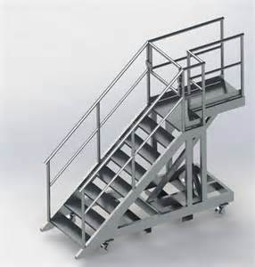 Platform Stairs by Portable Steps Archives Dynamic Engineering Consultants