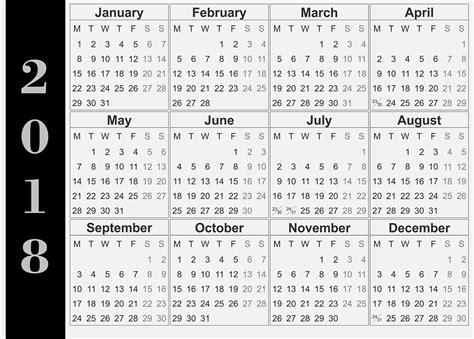 Calendar 2018 Wall India Wall Calendar 2018 2018 Calendar Printable For Free