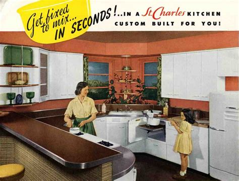st charles kitchen cabinets steel kitchen cabinets history design and faq retro