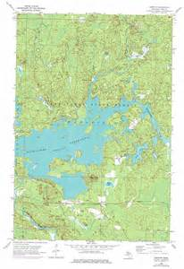 Michigan Topographic Map by Kiernan Topographic Map Mi Usgs Topo Quad 46088b2