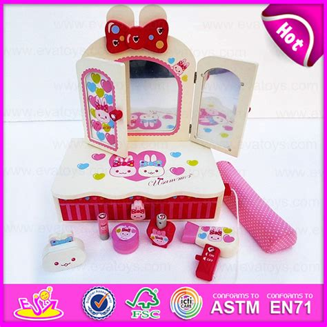 Pretend Kitchen Furniture China 2015 Item Cosmetic Toys Fashion Dresser Toys